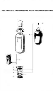 Zestaw naprawczy do hydroakumulatorów