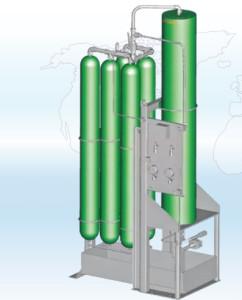 Baterie hydroakumulatorów zbutlami wspomagającymi Bolenz & Schafer