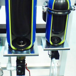 Obejmy ikonsole dohydroakumulatorów